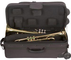 Protec iPac Étui double pour trompette sur roues