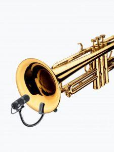 Micros filaires DPA VO4099T CLIPmicro-studio-instrument-a-vent-trompette
