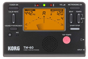 Korg TM60-BK Accordeur & Métronome