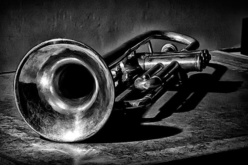Argent Lyre en Laiton Lyre pour Trompette Pince sur nickel/é pour Trompette trompettes ou Cornets Tige coud/ée