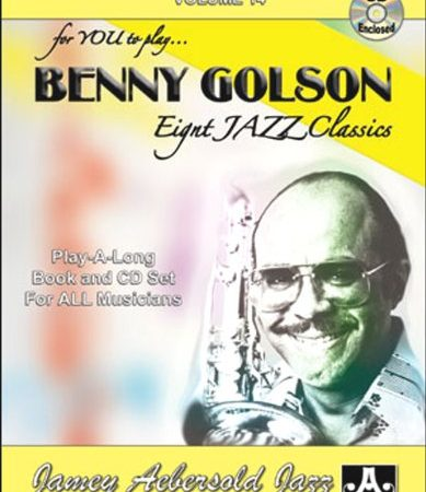 Aebersold aebersold n 176 014 benny golson cd partition jazz amp blue tou
