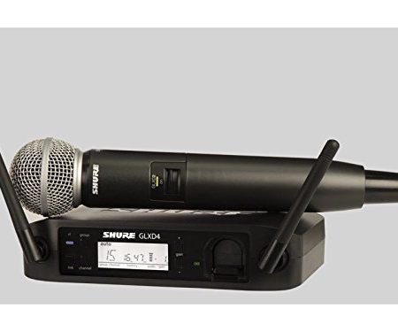 Set de microphone sans fil numérique Shure SM58