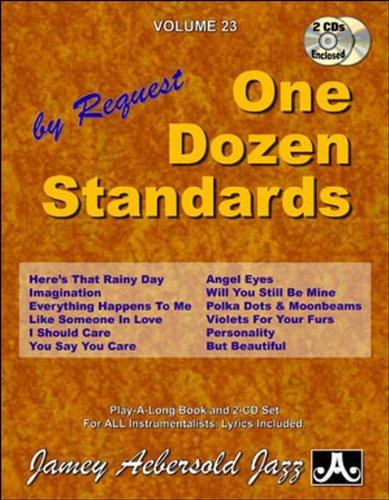 AEBERSOLD JAMEY - Tout instrument- Divers Auteurs - 23 One Dozen Standards + 2Cd